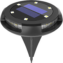 1Pc Solar Lamp with Warm Light Solar Ground Lamp