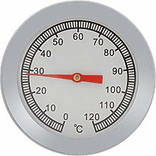 1PC Stainless Steel Cooking Thermometer, Pizza BBQ