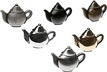 1pc Teapot Antique Furniture Handle Zinc Alloy
