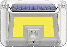 1Pc Three-side 100 COB Solar Lamp Solar Light Body
