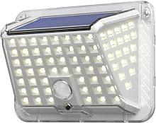 1Pc Three-side 100 LED Solar Lamp Solar Light Body