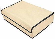 1Pc Underwear Box Multi-purposes Fabric Washable