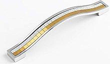 1PC Zinc Alloy Diamond Crystal Cabinet Pull Handle