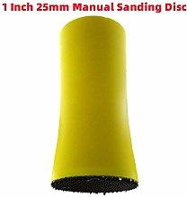 1Pcs 1 Inch 25MM Sanding Disc Sandpaper Polishing