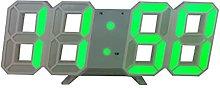 1PCS 3D LED Digital Desktop Wall Clock Wall Desk