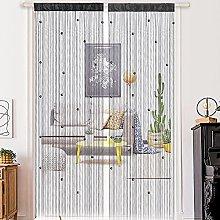 1PCS Beads Doorway Curtain Tassel Curtain Beaded
