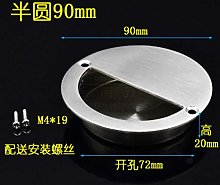 1PCS Hidden Recessed Furniture Handle Stainless