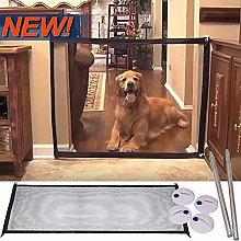 1PCS Magic Dog Gate, Pet Stair Gate Safe Guard