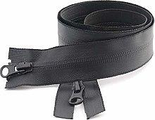 1Pcs NO. 5 Nylon Invisible Waterproof Zipper Coat