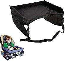 1PCS Portable Foldable Kid Car Seat Desk Kid