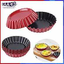 1Pcs Reusable Egg Tart Mold Cupcake and Muffin