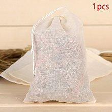 1pcs Reusable Food Filter Mesh Cotton Bag Nut Milk