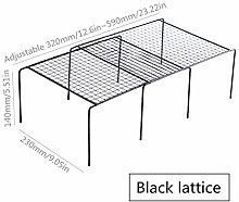 1Pcs Saving Space Adjustable Kitchen Storage Rack