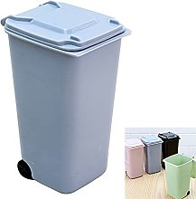1pcs Small Trash Can Mini Trash Bin Desk Organizer