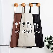 1Pcs Striped Waterproof Polyester Apron Woman