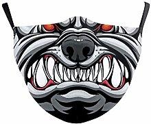 1Pcsmask Animal Print Face Mask 3D Digital face