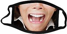 1Pcsmask Animal Print Face Mask Dust Breathable