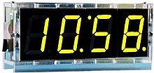1Set DIY Electronic Clock Kit LED Microcontroller