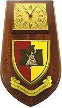 1st BN Royal Anglian Regiment Wall / Mess Clock