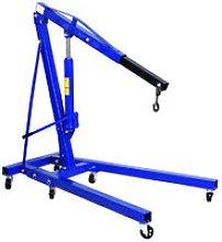 1T Hydraulic Workshop Crane Hoist Lift Folding