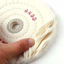 1x Cloth Polishing Buffing Wheel Pad 6Buffer