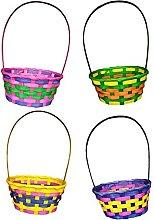 1x Easter Woven Basket- Hamper Basket- Easter Egg