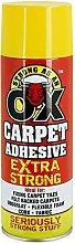 1x Heavy Duty 500ml Carpet Spray Adhesive Glue