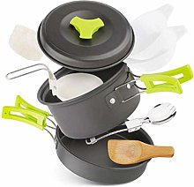 1yess Ultralight Camping Cookware Portable Outdoor