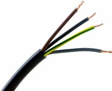 2/3/4 CORE Electrical Flex Cable Wire Length Twin
