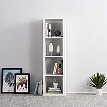 2/3/4 Tiers Unit Display Storage Bookshelf Shelves