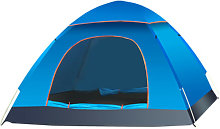 2-3 Person Family Dome Tents 2 Door Auto Camping
