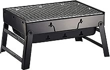 2-4 Persons Charcoal Barbecue Portable Folding BBQ