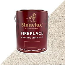 2.5 Litre Stonelux Fireplace Paint in Lampor