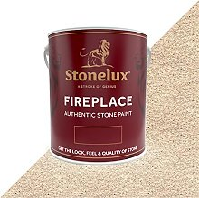 2.5 Litre Stonelux Fireplace Paint in Magna