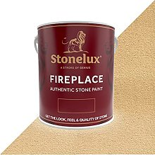 2.5 Litre Stonelux Fireplace Paint in Rode