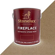 2.5 Litre Stonelux Fireplace Paint in Wolfton
