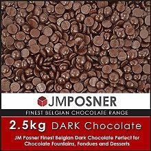 2.5kg Finest Belgium Dark Chocolate - Chocolate