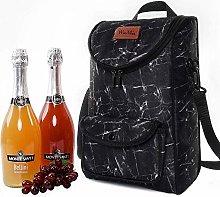2 Bottles Wine Bag Insulated Wine Champagne Bottle