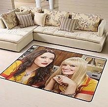2 Broke Girls Max Area Rug Floor Rugs Living Room