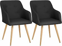 2 Chairs Tanja - desk chair, lounge chair, reading