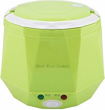 2 Cup Mini Rice Cooker Steamer 12V 100W 1.3L