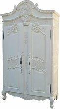 2 Door Wardrobe Astoria Grand Finish: Antique White