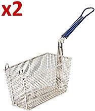 2 Frying Basket for Commercial Fryer Takeaway