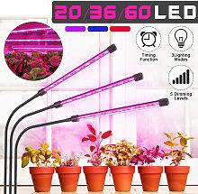 2-Head Grow Light Plant Lights for Indoor Plants
