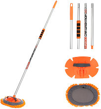 2-in-1 Car Wash Mop Removable Brush Duster