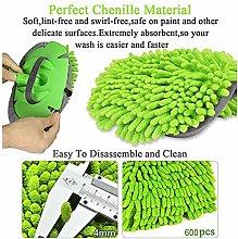 2 in 1 Ch2 in 1 Chenilenille Microfiber Car Wash