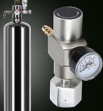 2 in 1 CO2 Soda Gas Regulator Soda Pressure Gauge