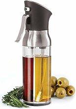 2-in-1 Drip Free Olive Oil Dispenser Bottle, Glass