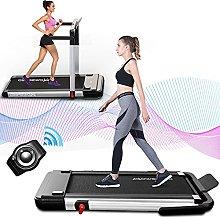 2 in 1 Folding Treadmill, 2.25HP, 0.8-12km/h Under