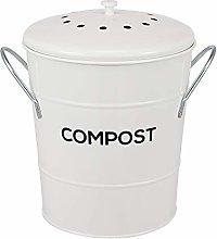 2-in-1 Indoor Kitchen Compost Bin, Great for Food